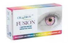 карнавальные контактные линзы FUSION FANCY (2 шт.) Crazy